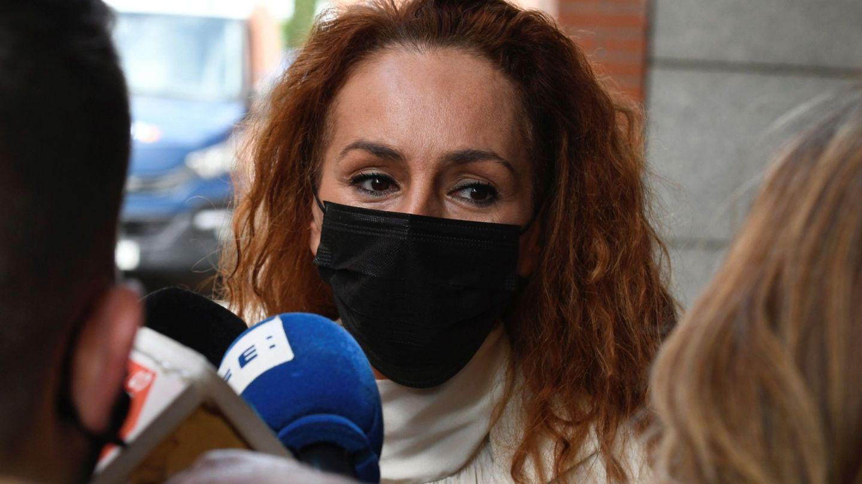 Rocío Carrasco, el pasado 30 de abril, en el juzgado de Alcobendas. (EFE)
