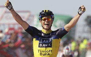 Roche vence en Da Groba y se acuerda de Contador; Nibali, nuevo maillot rojo