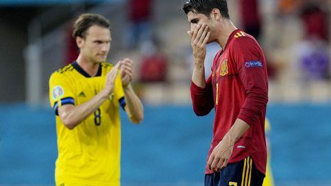 Morata resume su tortuosa carrera en un partido: hace todo menos lo más importante