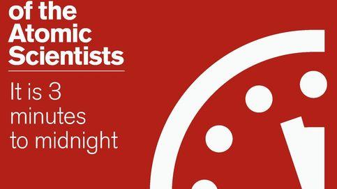 Faltan tres minutos para la medianoche en el reloj que marca el fin del mundo