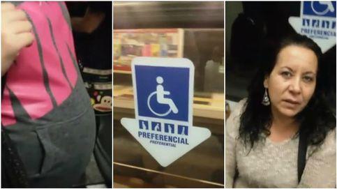 Se burlan de una mujer embarazada a la que no le ceden el asiento en el Metro