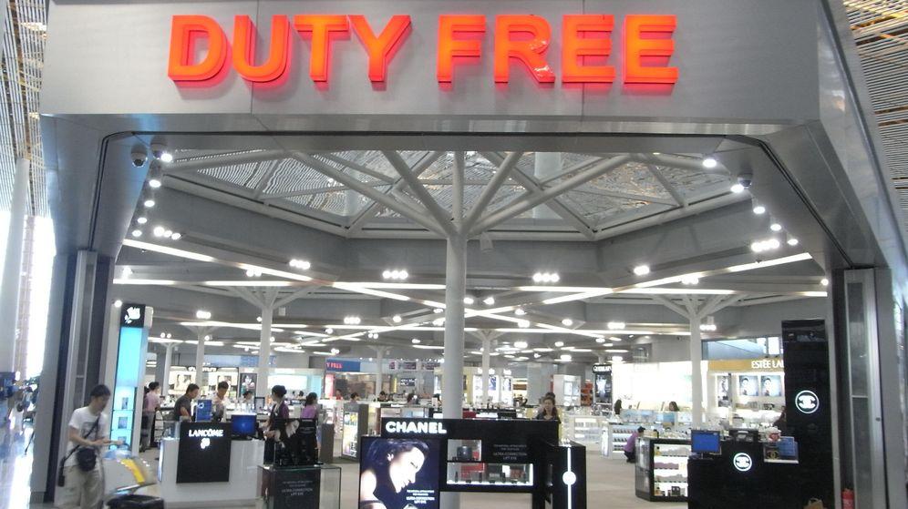 Foto: Tienda duty free del aeropuerto de Pekín (Foto: CC/Zhanyanguange)