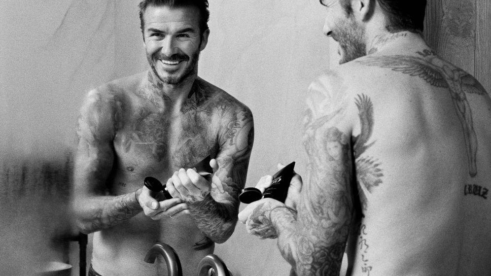 Foto: Como David Beckham. El exfutbolista sabe cómo cuidarse a diario. (Imagen: House 99/Cortesía)