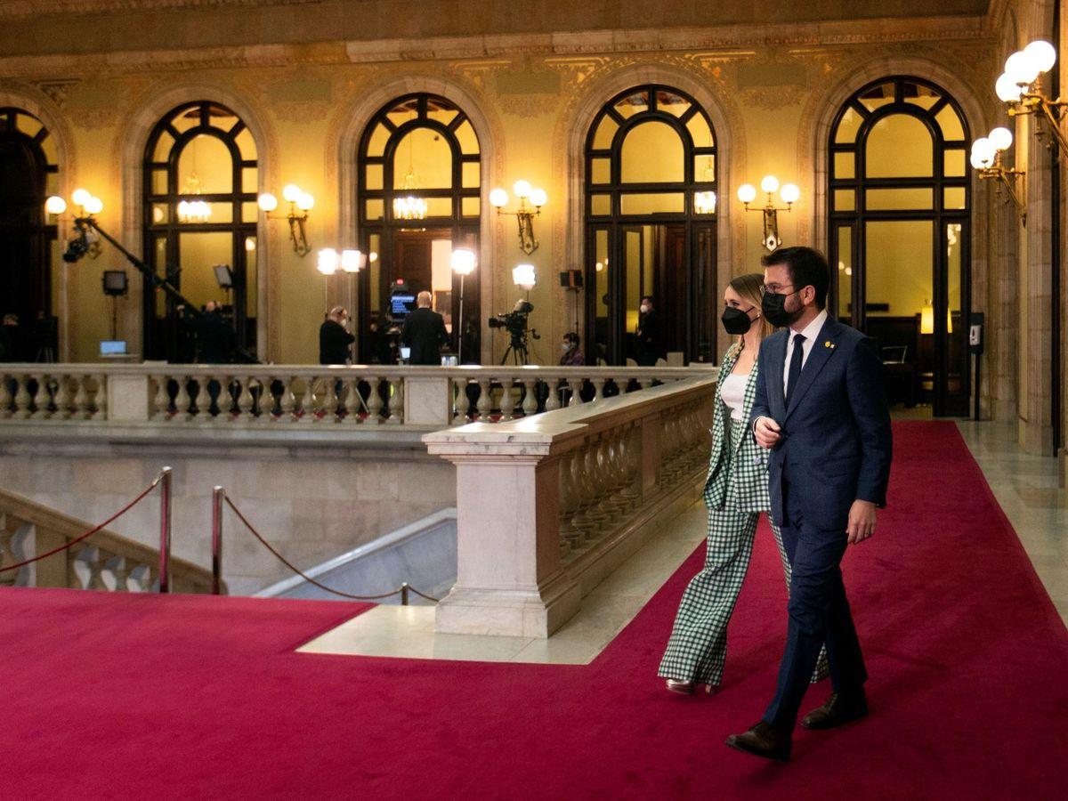 Foto: El candidato de ERC a la presidencia de la Generalitat, Pere Aragonès. (EFE)