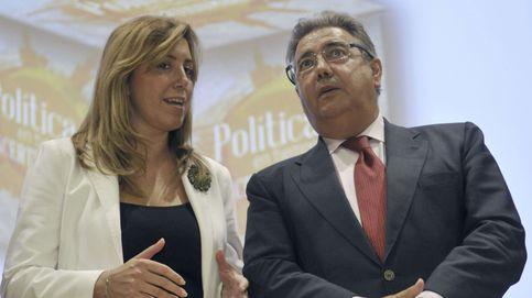 Susana Díaz y Zoido cierran una declaración conjunta para plantar cara a los narcos