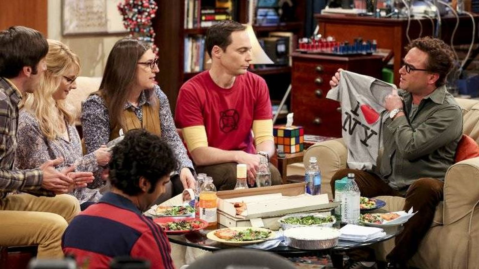 Foto: Imagen de la última temporada de 'The Big Bang Theory'. (CBS)