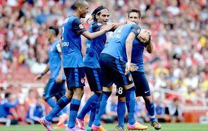 Falcao vuelve a jugar al fútbol en el empate entre Mónaco y Valencia
