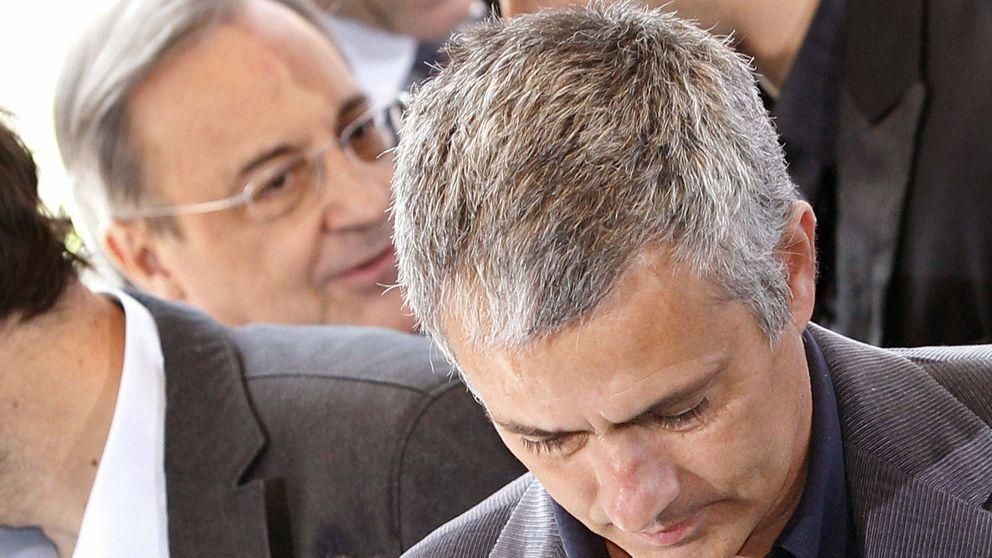 Mou divide a la afición, pero Cristiano y Sergio Ramos no le permitirán volver