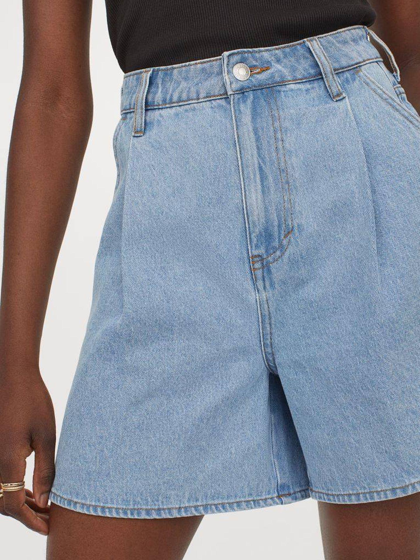 El pantalón vaquero corto y básico de HyM. (Cortesía)