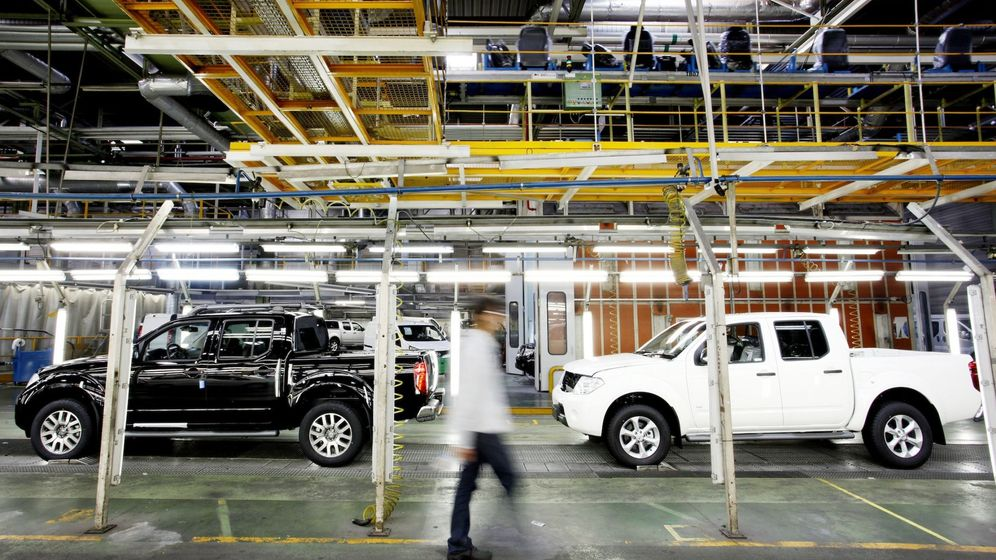 Foto: Fábrica de Nissan en Barcelona