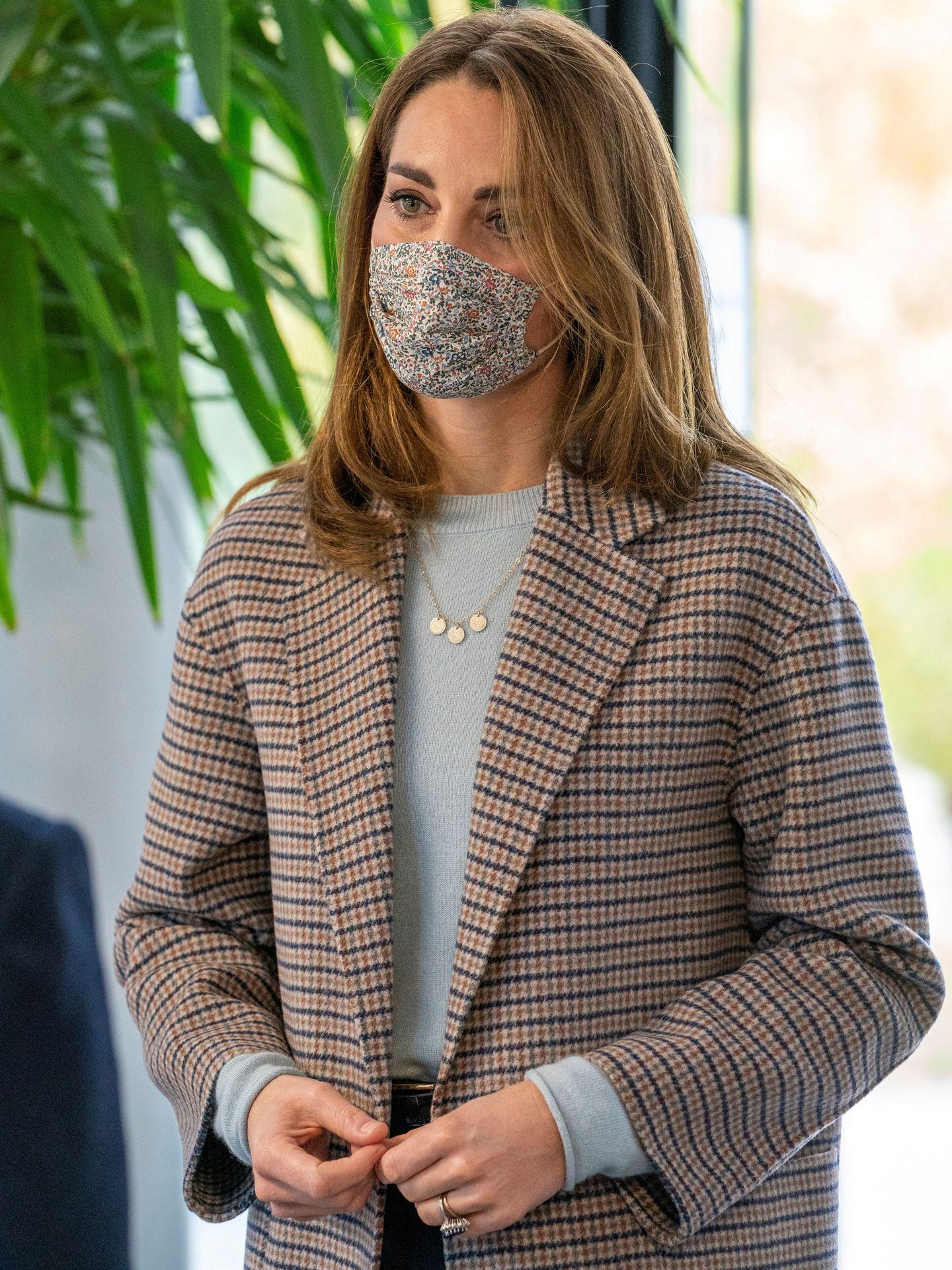 La duquesa, en la Universidad de Derby. (Reuters)