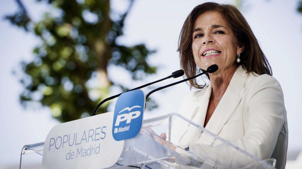 Foto: Fotografía de archivo de la exalcaldesa de Madrid Ana Botella. (EFE)