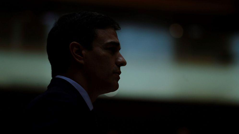 Foto: El presidente del Gobierno, Pedro Sánchez, durante una sesión del pleno del Senado. (EFE)