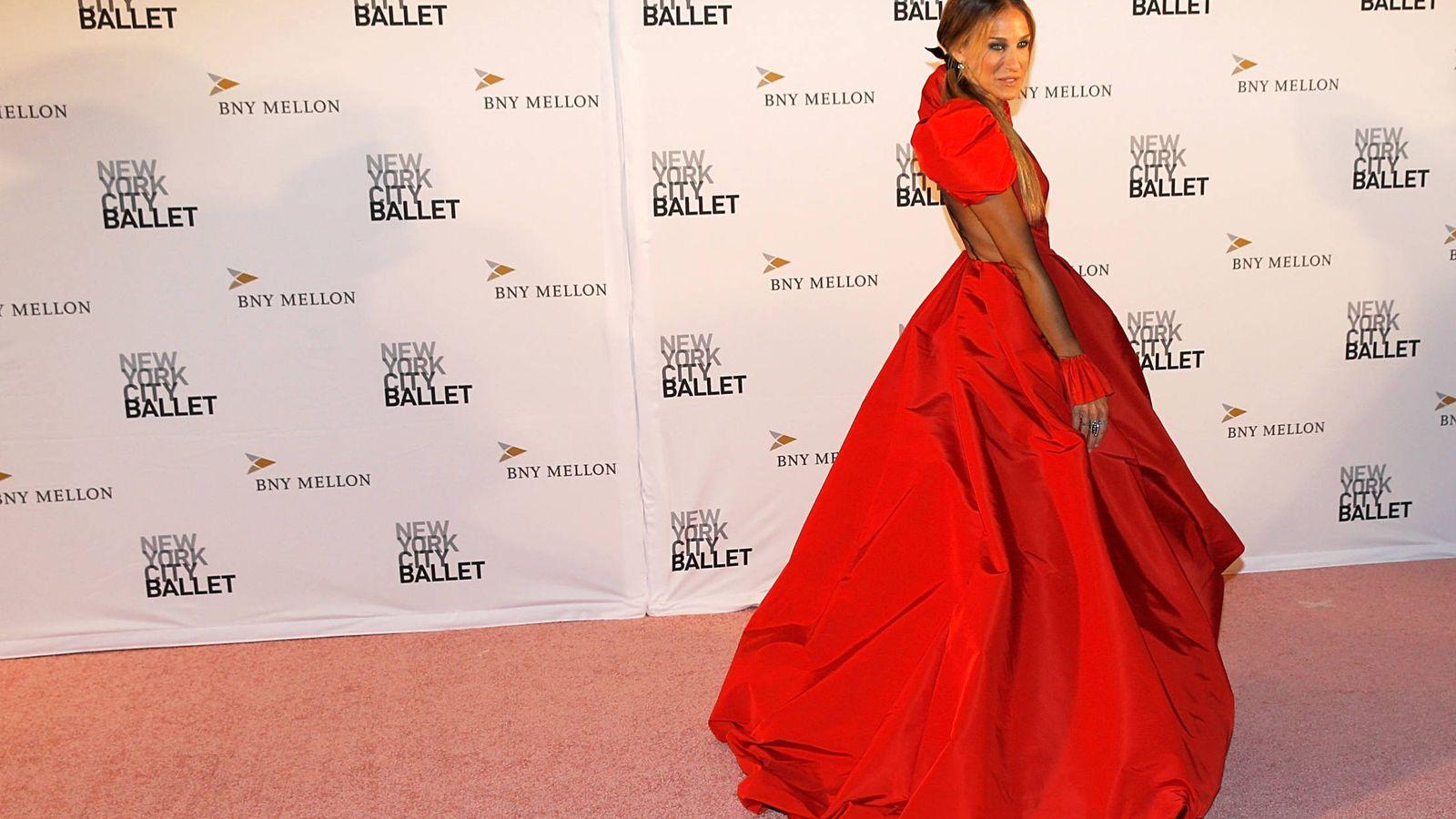Foto: Sarah Jessica Parker acude a la Fashion Gala del ballet de Nueva York. (Getty)