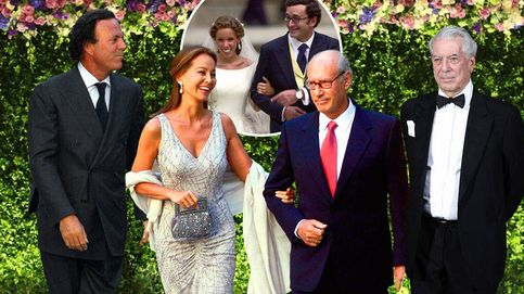 La boda en la que Isabel Preysler, Boyer, Julio Iglesias y Vargas Llosa comieron juntos