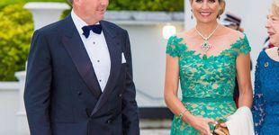 Post de Un vestido irlandés, un 'huevo esmeralda' y otros detalles del look de gala de Máxima