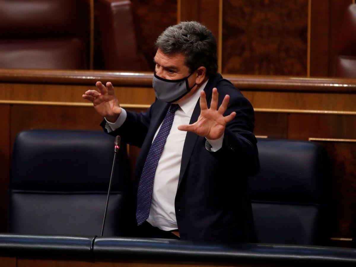 Foto: El ministro de Inclusión, Seguridad Social y Migraciones, José Luis Escrivá. (EFE)