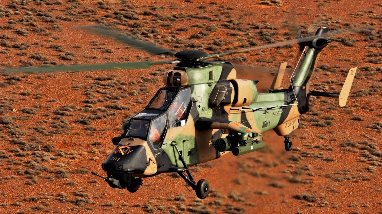 Tigre en versión ARH en servicio con el Ejército australiano (Foto: Australian Army)