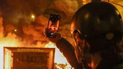 Siete detenidos en Terrassa durante otra noche de disturbios por Hasél