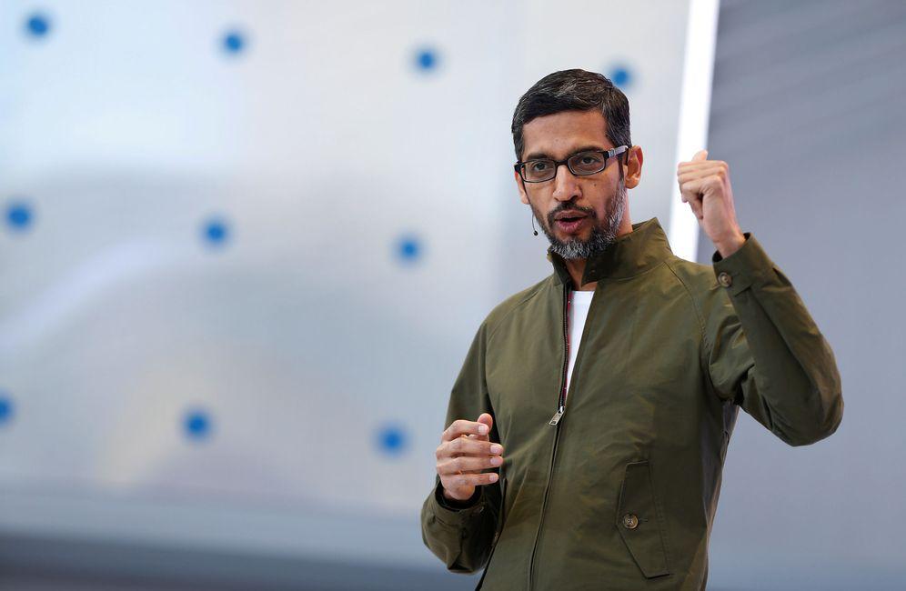 Foto: Sundar Pichai, CEO de Google. (Reuters)