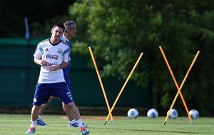 Zubizarreta ya está en Argentina para 'vigilar' de cerca a Leo Messi