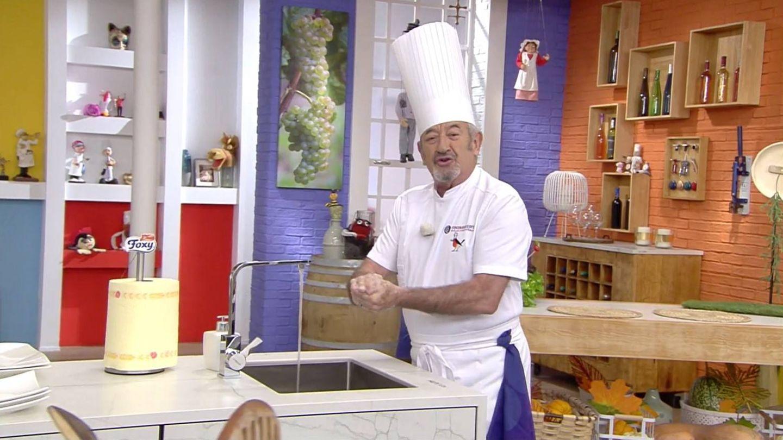 Karlos Arguiñano, en 'Cocina abierta'. (Atresmedia)