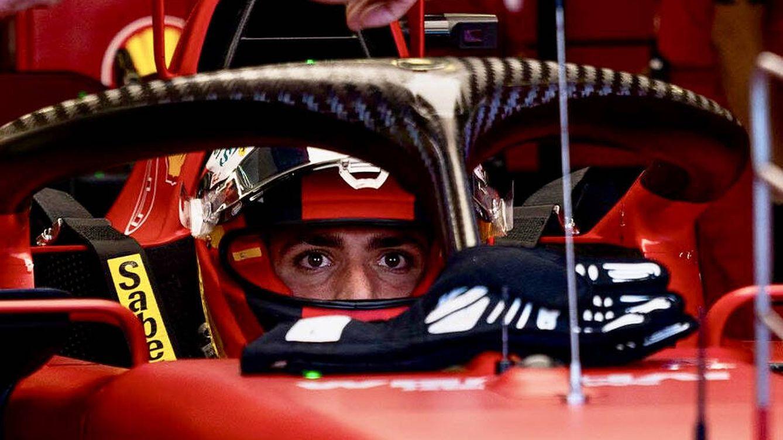 Foto: El pasado GP de Rusia ofreció todo un abanico de situaciones a través de las radios de los pilotos, como también fue el caso con Sainz
