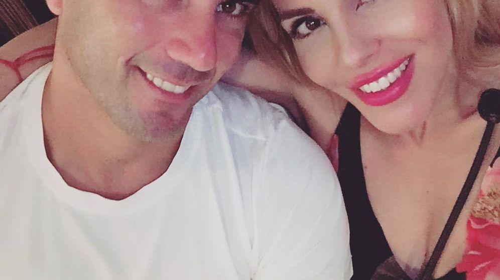 Foto: José Antonio Reyes y Noelia López. (Instagram)