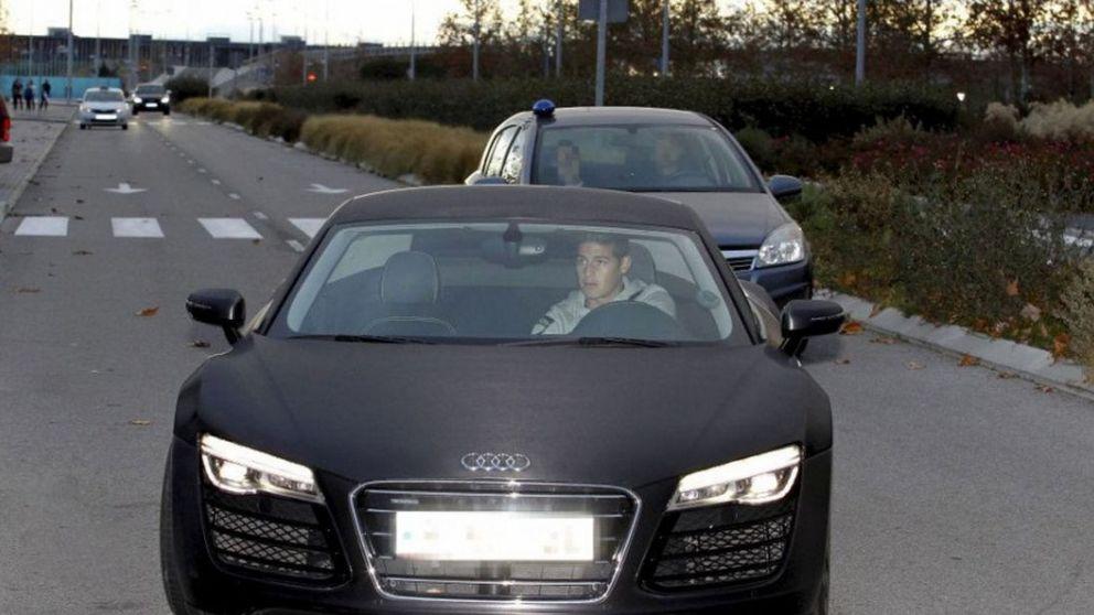 James, castigado con la multa máxima por escaparse de la Policía: 10.400 euros