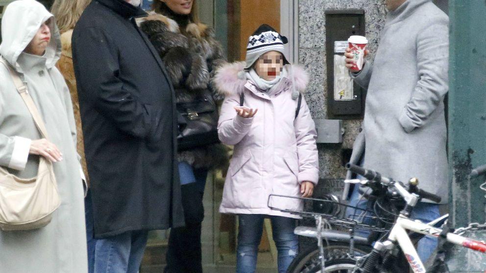 Paula Echevarría y David Bustamante, en Nueva York con los padres de ella
