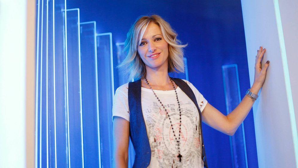 Foto: Susanna Griso, premio a la mejor presentadora. (Enrique Villarino)