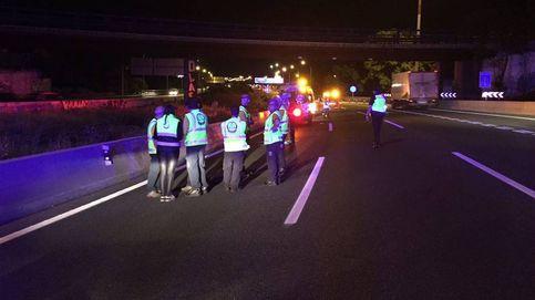 Fallece atropellado un joven de 19 años en la autopista A-2 al cruzar la autovía