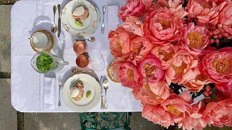 El desayuno en el Palazzo Albricci Peregrini. (Cortesía)