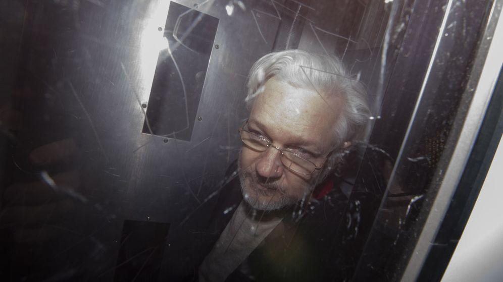 Foto: Julian Assange. (EFE)