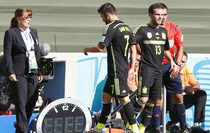 David Villa deja la Selección con 59 goles y cabreado con Del Bosque