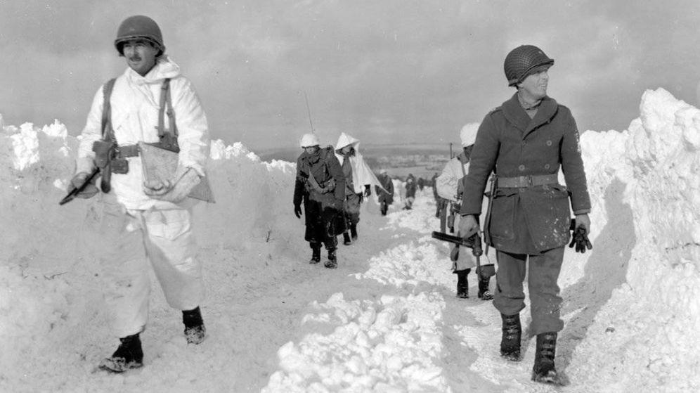 Foto: La batalla de las Ardenas, a 17 grados bajo cero
