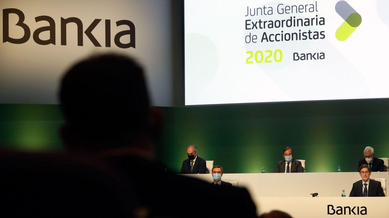 Junta de accionistas de Bankia. (EFE)