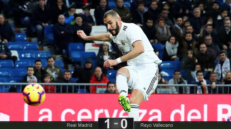 Foto: Benzema marcó el gol del Real Madrid. (Reuters)
