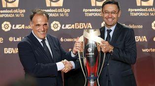 El berrinche de Tebas con Neymar, un paripé que el Barça resolvió con un comunicado
