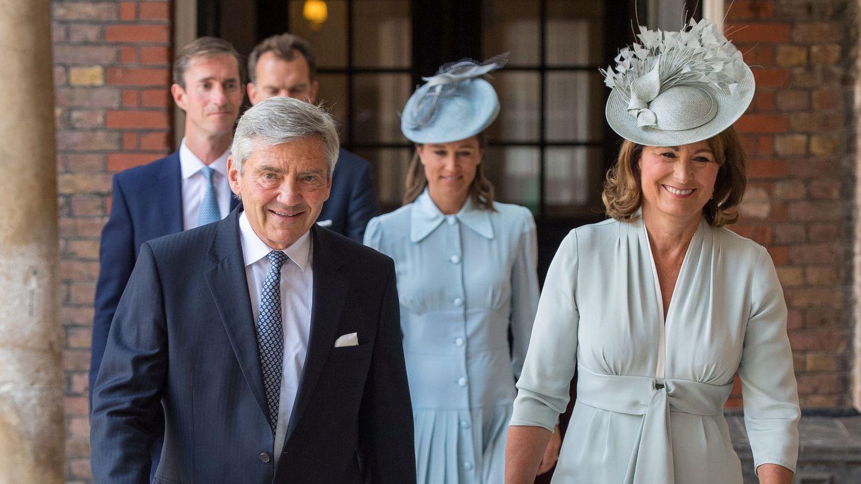 Michael y Carole Middleton en una imagen de archivo. (Reuters)