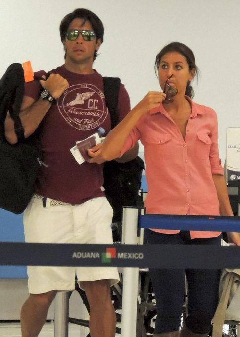 El tenista Fernando Verdasco y Ana Boyer en una imagen de archivo (Gtres)