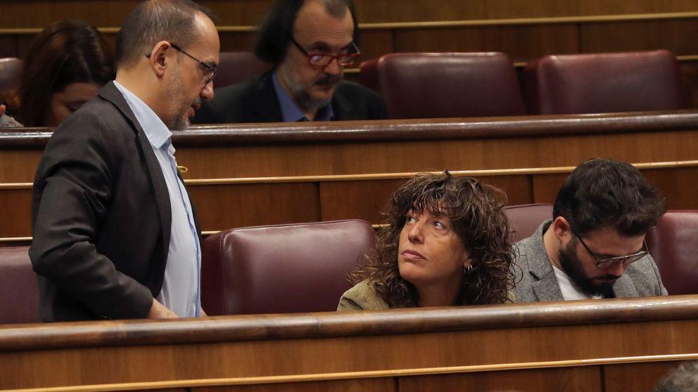 Rufián y Tardà salvan sus sueldos: el Congreso no les sancionará por sus ausencias