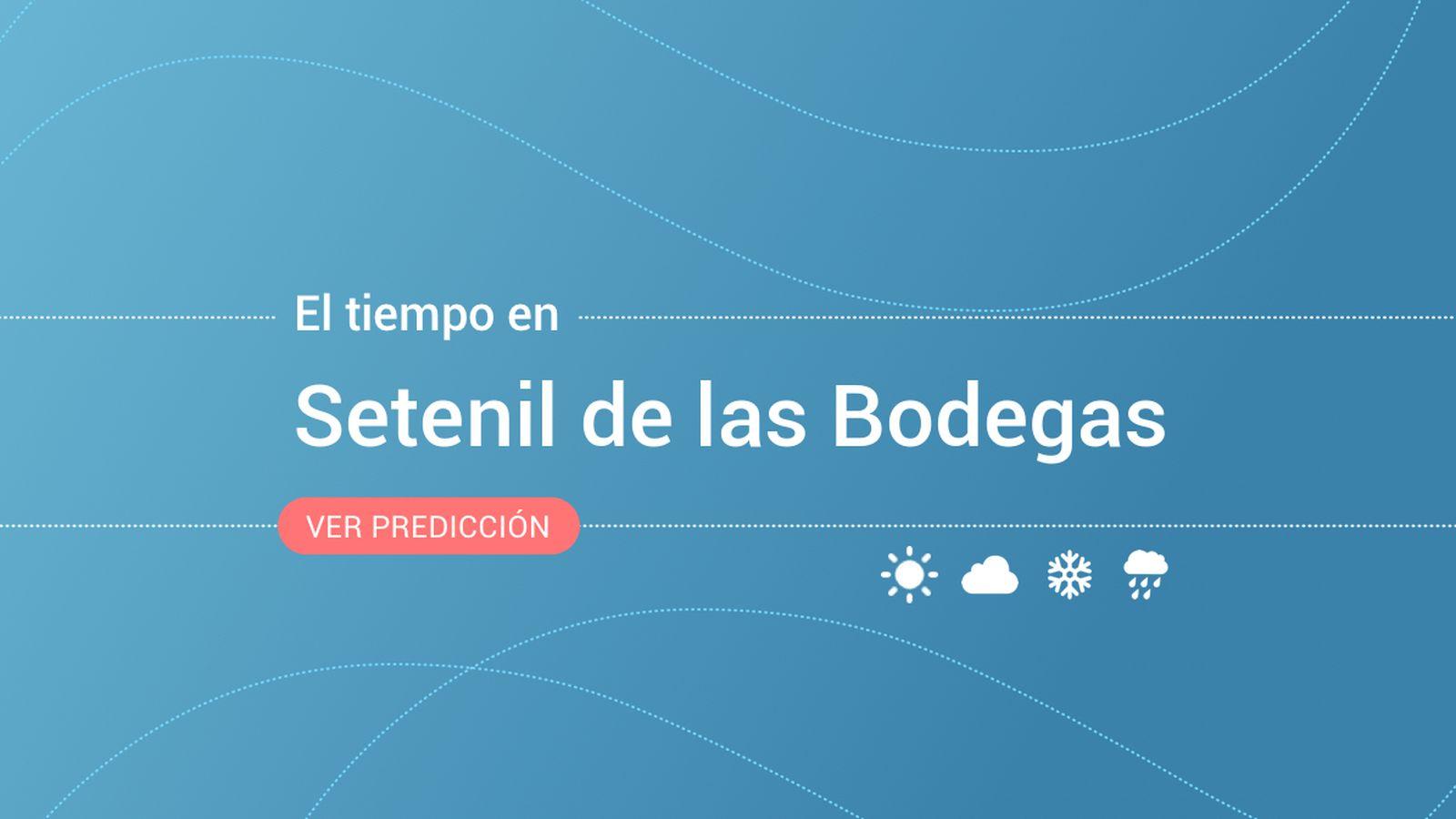 Foto: El tiempo en Setenil de las Bodegas. (EC)