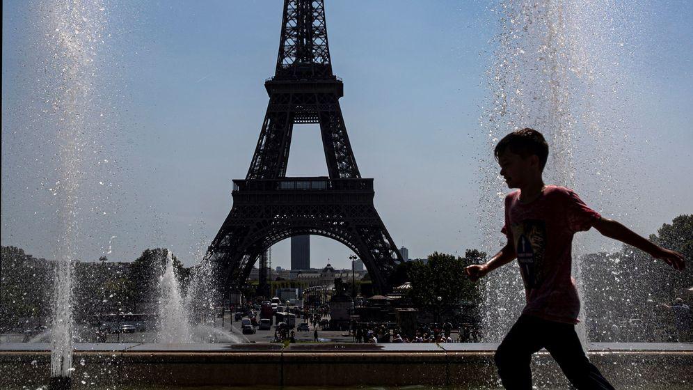 Foto: Ola de calor durante el mes de julio en París