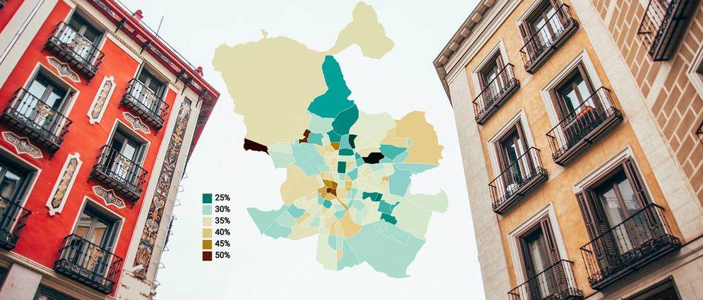 Foto: El Plantío, Sol, Cortes... Barrios donde el alquiler se come el 50% de los ingresos.