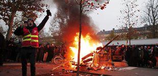 Post de 500 radicales enturbian la manifestación en París por la reforma de las pensiones