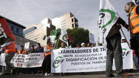 Examinadores de Tráfico vuelven a la huelga para pedir un aumento retributivo