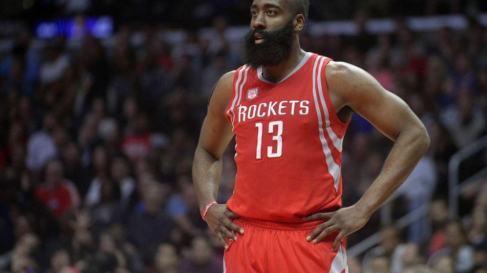 Foto: James Harden es la gran estrella de los Houston Rockets. (Reuters)