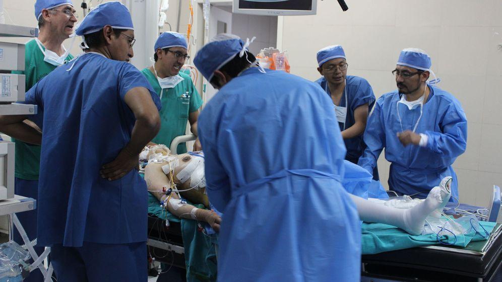 Foto: Una operación de trasplante. Foto: EFE