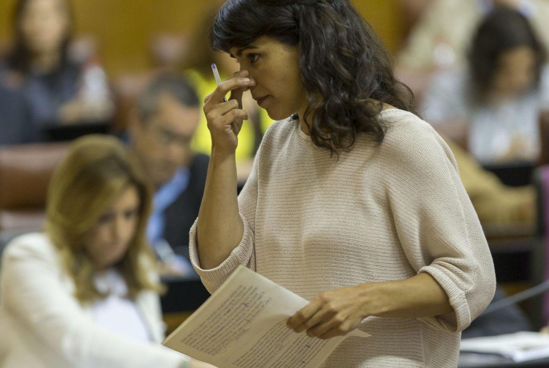 Teresa Rodríguez. (Efe)